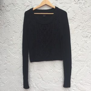 MARC By MARC JACOBS Size Large Black Knit Sweater